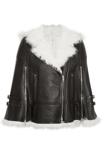 cape leather white black black leather top