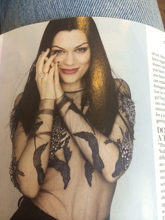 top jessie j embroidered