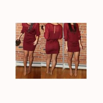 dress burgundy dress burgundy red dress red