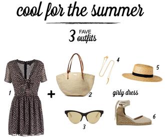 b a r t a b a c blogger dress top bag sunglasses jewels hat shoes skirt jeans