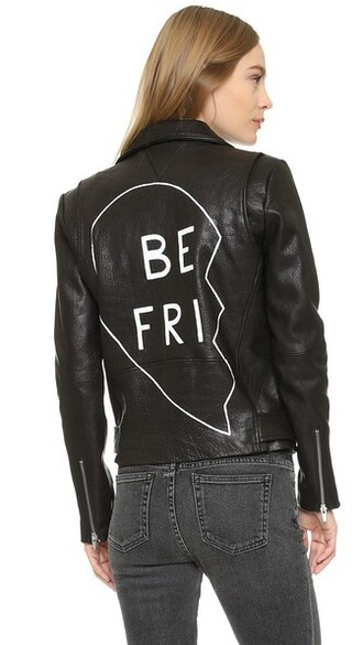 jacket friends black