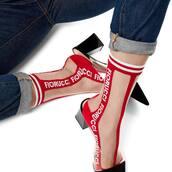 socks,red socks