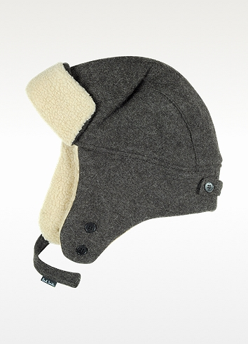 52847b678a93f Paul Smith Brown Wool Trapper Hat