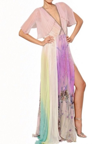dress similar cheaper cheaper price maybe cheaper! cheaper blumarine pleated dress silk dress bohemian boho gypsy spring dress spring