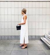 bag,mini bag,leather bag,maxi dress,mid heel sandals,earrings