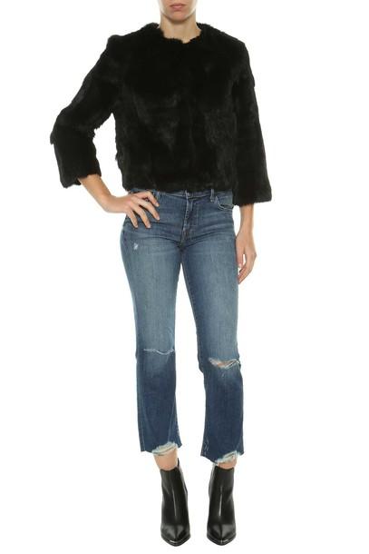 J BRAND jeans cropped denim