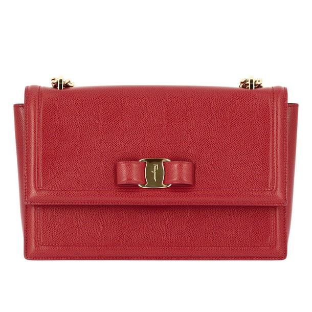 Salvatore Ferragamo women bag shoulder bag red