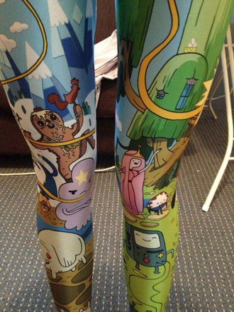 pants leggings adventure time adventure time leggings adventure time tights
