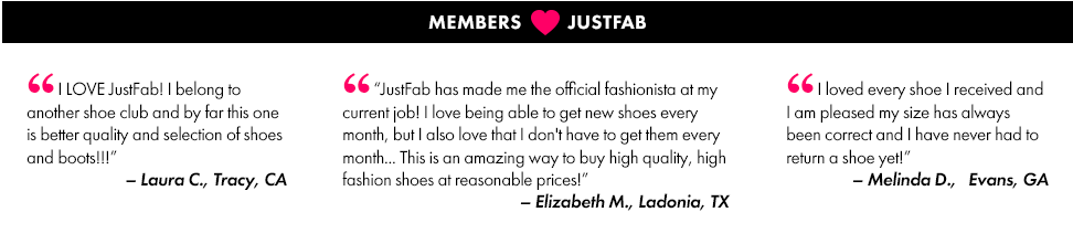 Women's Shoes, Boots and Handbags from JustFab