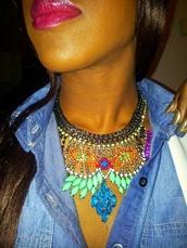 jewels,shourouk,statement necklace,rhinestones,aliexpress