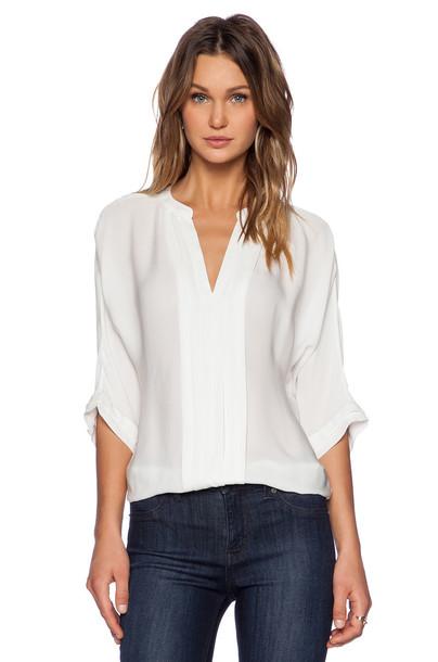 top matte silk white
