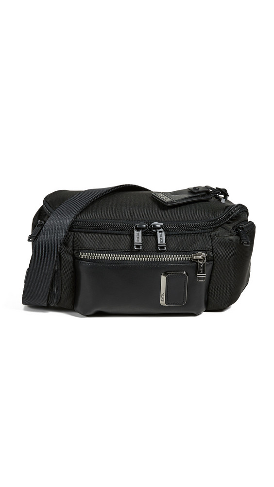 Tumi Alpha Bravo Kelley Sling Bag in black