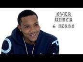 sweater,g herbo,kenzo paris sweater,navy blue sweater,hoodie