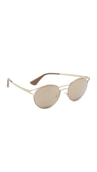 pale sunglasses mirrored sunglasses gold