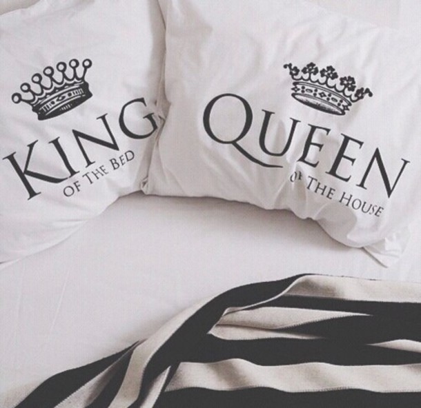 Home Accessory Bedroom Pillow White Black And White Bettwäsche