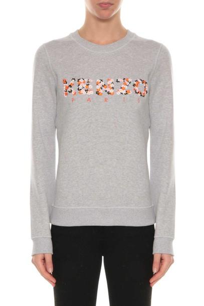 Kenzo sweatshirt embroidered sweater