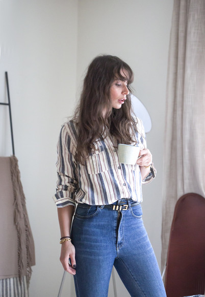 Belt blogger portable package jeans