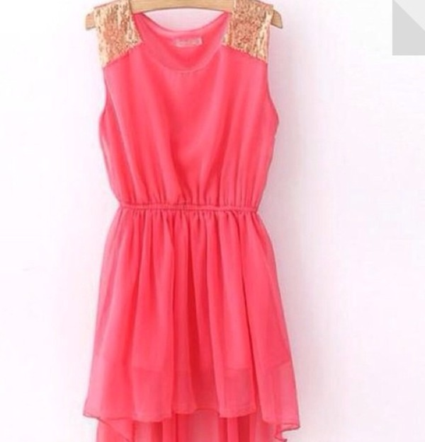 dress pink sparkle somethingtogowith