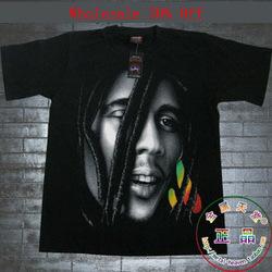Nuevo 2014 de verano de moda de manga corta camiseta camisa básica de la novedad hiphop bob marley mali en de en Aliexpress.com