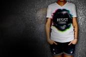 shirt,glitch art,neon,graphic design,art print,pop art,typography,statement,lips,speaking,surrealism,distortion,printed t-shirt,womens t-shirt