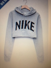 sweater,crop,grey,cropped hoodie,blouse,cropped sweater,grey sweater,nike sweater,pinterest,nike,dress,shirt,nike grey hoodie,cropped,top,cute,crop tops,hoodie,dope,sweater weather,jacket,grey nike cropped sweatshirts,coat,grey hoodie,long sleeve crop top,gray hoodie,nike top,long sleeves