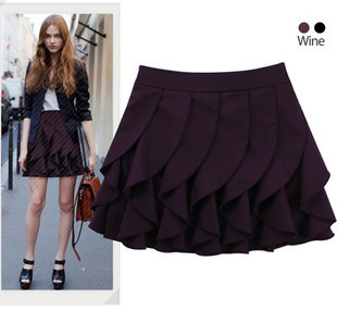 Star style pleated skirt