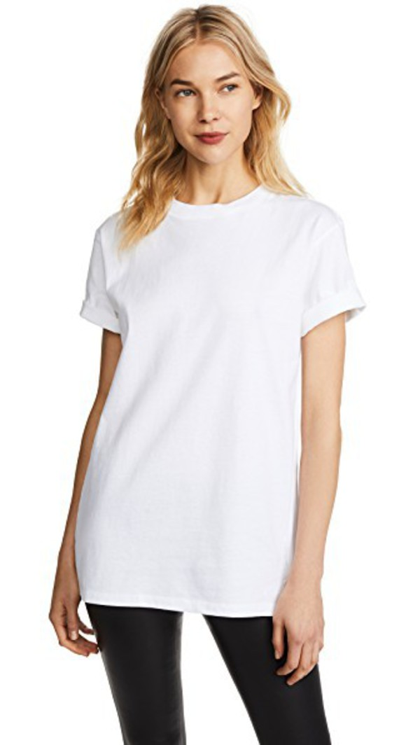Hanes x Karla The Classic Tee in white