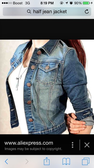 jacket jeans blue blue jeans half cheap affordable