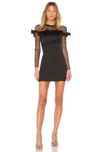 devlin dress black
