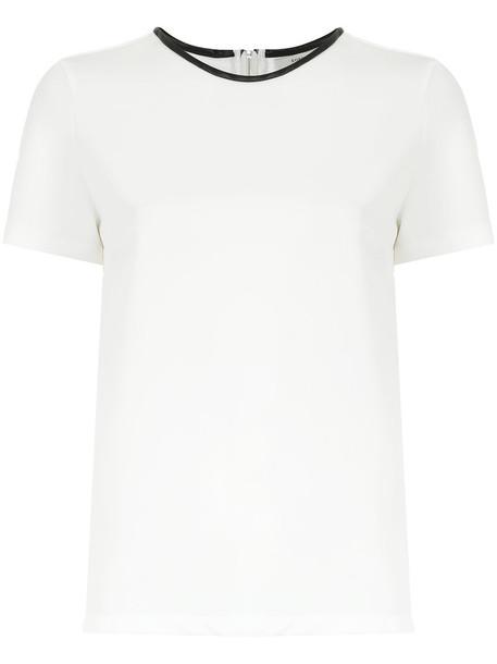 EGREY blouse women spandex white top