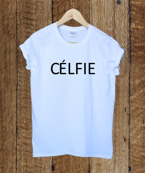 Celfie ladies t shirt