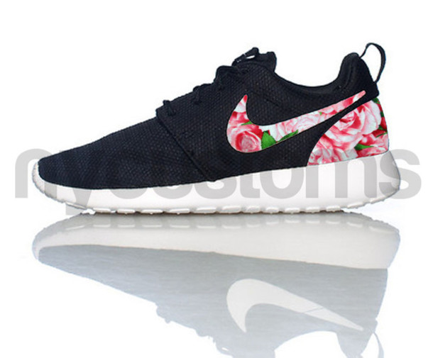 shoes roshes floral print shoes roses women sneakers. Black Bedroom Furniture Sets. Home Design Ideas