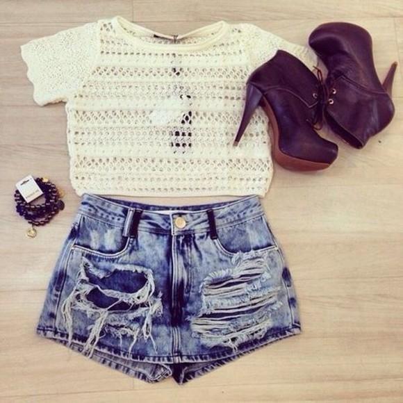 knitwear sweater crop tops white white crop tops t-shirt