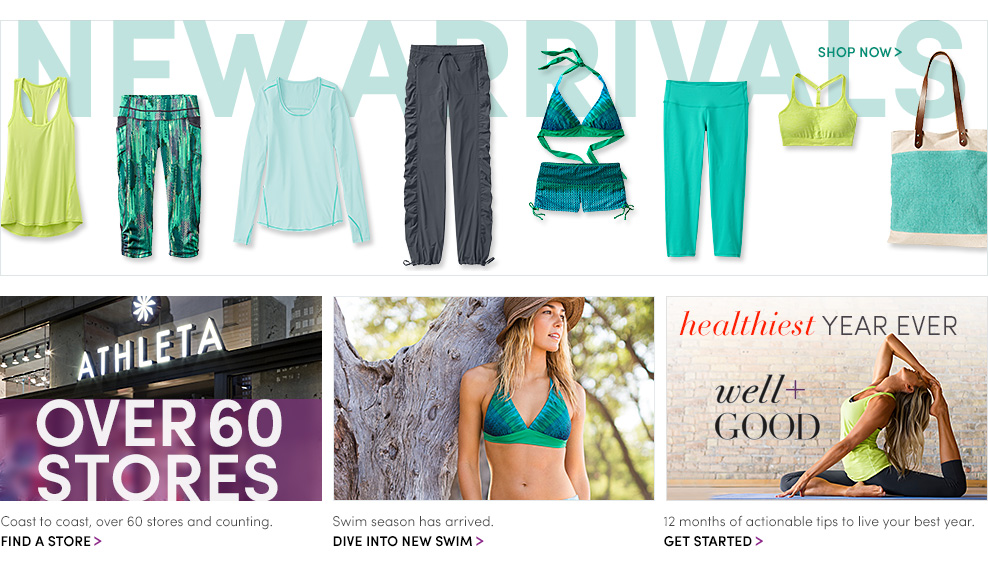 Women's Performance Apparel: Yoga Clothing, Run Clothing & Swimwear. Free Shipping | Athleta