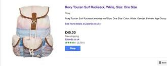 bag roxy surf backpack