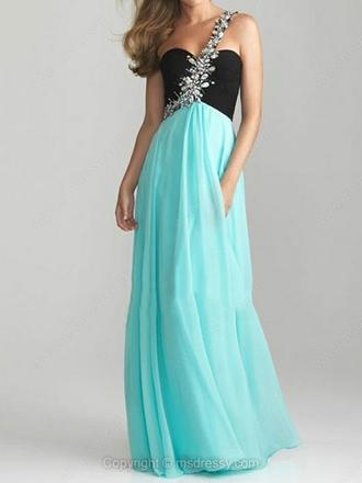 dress prom dress one shoulder one shoulder dresses one shoulder dress blue dress turquoise turquoise dress one shoulder prom dress