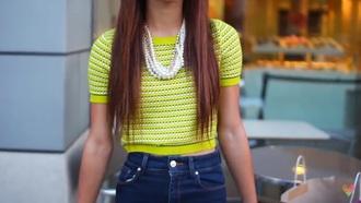 shirt crop tops cute yellow top mylifeaseva