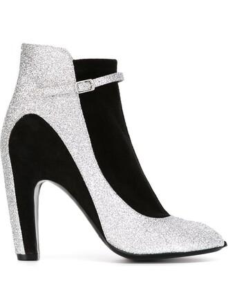 boots peep toe boots black shoes