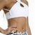 CROPPED TANK WITH STRIPS WHITE BASIC                           | Pitanga Fitness & Beachwear