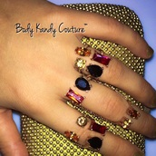 jewels,double knuckle ring,bling,rose gold,knuckle ring,double chain ring,chain,body kandy couture,trendy,bijoux rings,statement ring,big rings,Open cuff ring,gemstone ring,ring,2017 collection,gold ring,gold chain,gold jewelry,pink,black,designer trendy