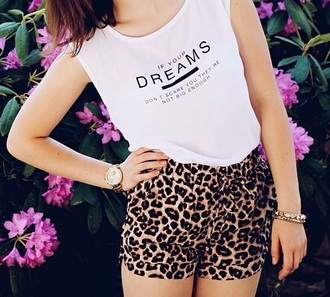 shorts hot nice cool leopard print summer shorts hot pants