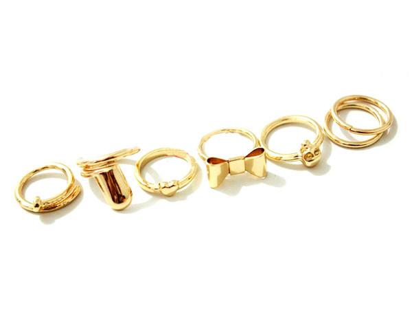 Midi Ring Set   Two Peace Bikinis   Boutique