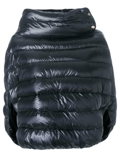 Herno jacket women cotton black