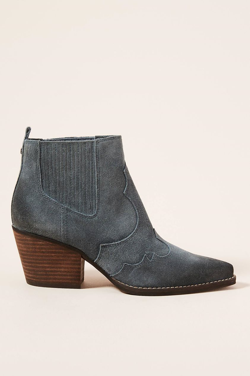Sam Edelman Winona Suede Ankle Boots by in Grey