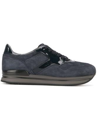 sneakers platform sneakers blue shoes