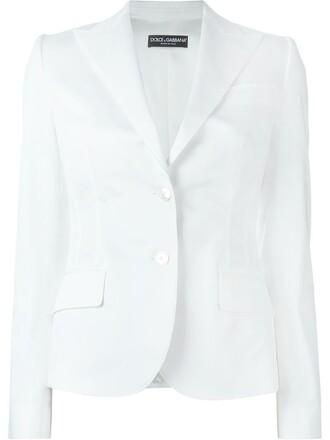 blazer women spandex white cotton silk jacket
