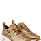 Nike - gold leather air max thea joli sneaker