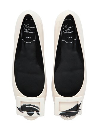 eyes flats leather flats leather white shoes