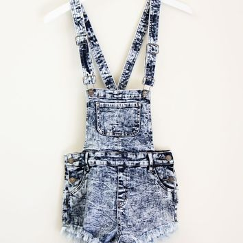 ACID WASH OVERALLS on Wanelo