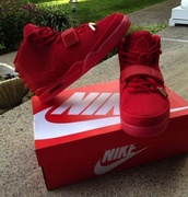shoes,red sneakers,nike,suede,red,sneakers